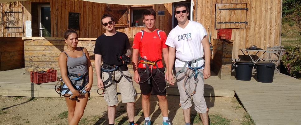 Team building Axysweb : journée sportive à l'accrobranche