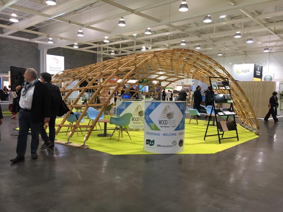 Woodrise Congrès Bordeaux : stand FCBA