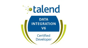 Brevet de certification développeur talend data integration