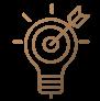 Icône : recherche de résultats immédiats