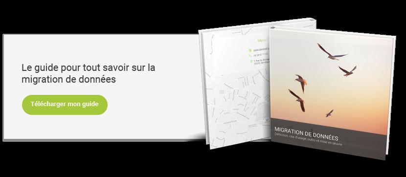 Téléchargez votre guide pour préparer votre projet de migration de données