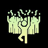 Icone : la bonne humeur au quotidien chez Axysweb