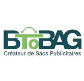 Logo de BtoBag spécialisé dans la création de sacs publicitaires