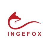 Logo de la société Ingefox, informatique industrielle et embarquée