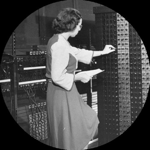ENIAC Girls programmatrices du premier ordinateur numérique électronique