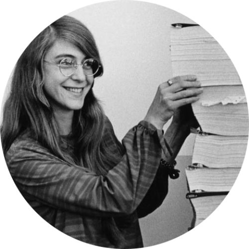 Margaret Hamilton programmatrice de la mission Apollo